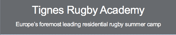 PSA Rugby Academy, Tignes, Week 2 - 13/07/2019 - 20/07/2019 (€ Bookings)
