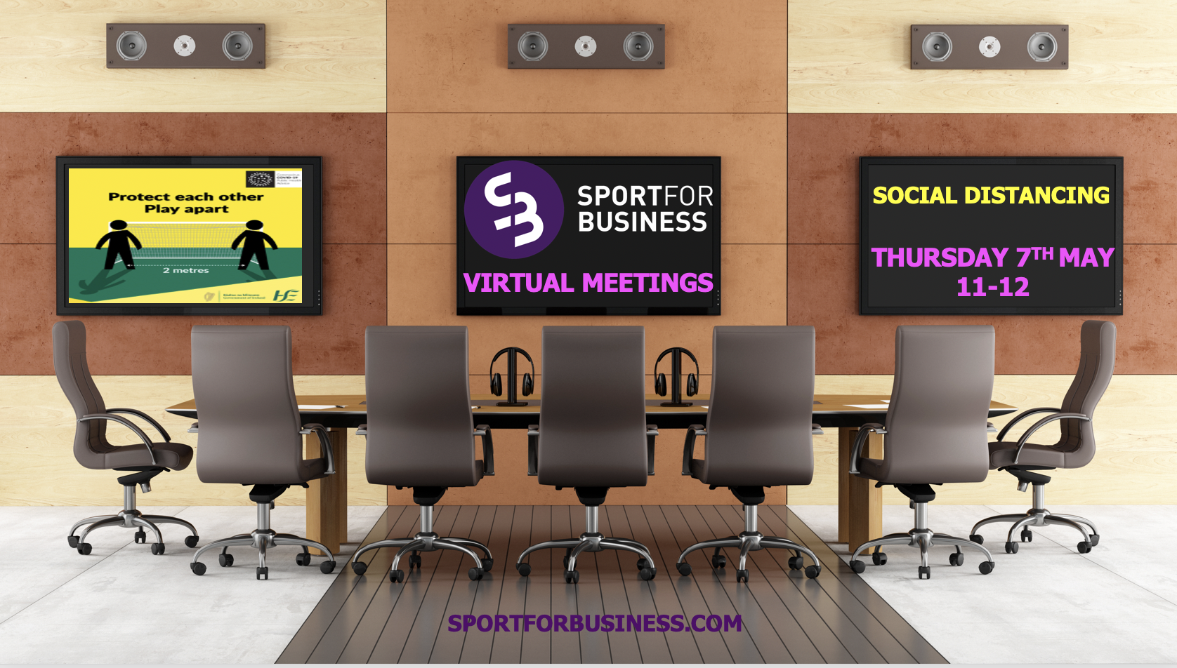 Sport for Business Live Meeting - Social Distancing in Sport